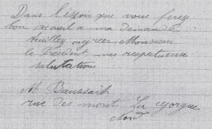 Cote Archives Départementales du Nord : 11R43