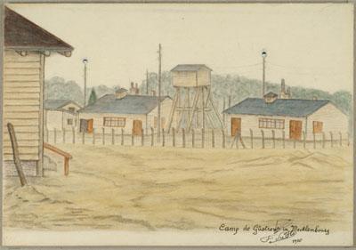 Camp de Güstrow in Mecklemburg (1916)