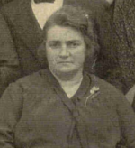 A partir d'un portrait, Marie mon arrière grand-mère