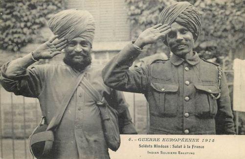 Soldats Hindous