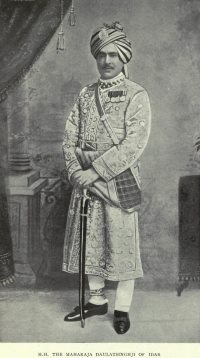 Colonel His Highness Maharaja of Idar, Daulat Singh