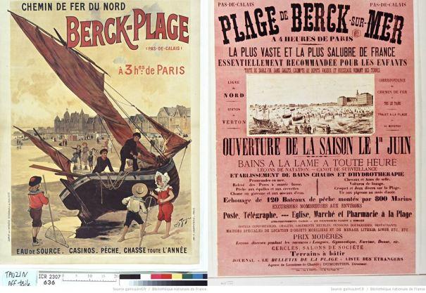 Berck-Plage (62) fin 19è début 20è siècle