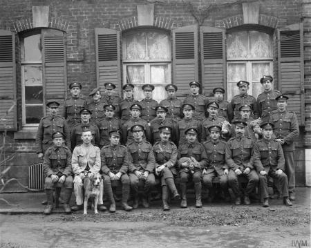 Beaumerie 1918, soldats britanniques