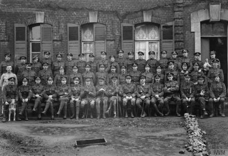 Beaumerie (62) 1918, au quartier général britannique