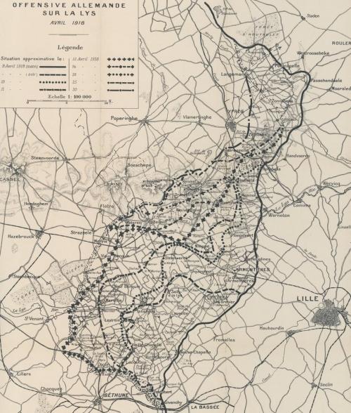 Offensive allemande sur la Lys, avril 1918