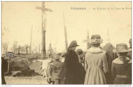 Le calvaire de la Croix-de-Rome, 1GM