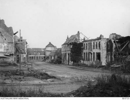 Ruines de Fleurbaix (62) 16 novembre 1918