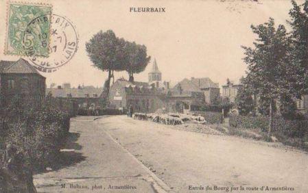 """Fleurbaix """"la fleur"""" (62) , paisible et active avant la 1GM"""