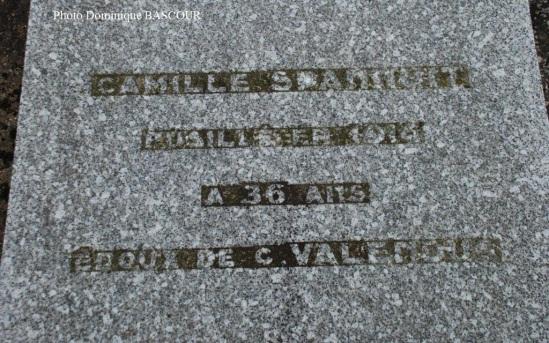 Sépulture (Aloïse) Corneille SPANNUIT