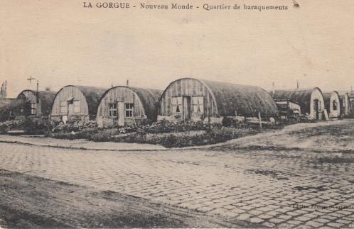 Le Nouveau Monde La Gorgue, Reconstruction après-guerre