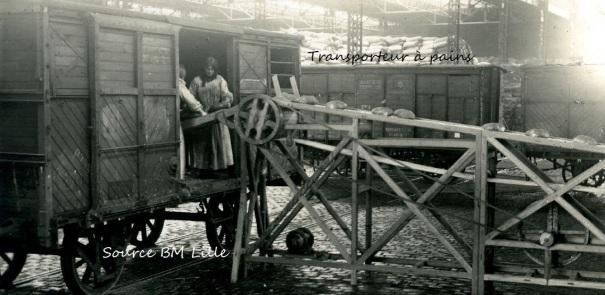 Boulangerie de guerre Dunkerque, Ravitaillement du front