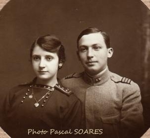 Mariage SOARES Carlos, soldat portugais
