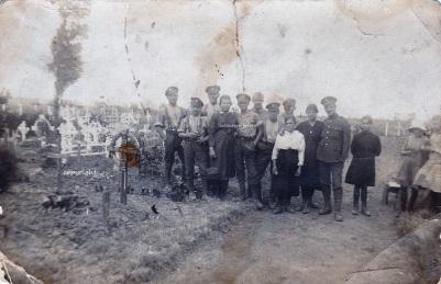 Cimetière militaire britannique, Estaires, 1916-1918