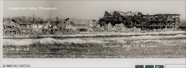 Vue panoramique, Hulluch (Pas-de-Calais), fosse de Lens.