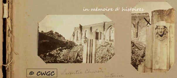 Intérieur de l' église de Laventie - février 1920